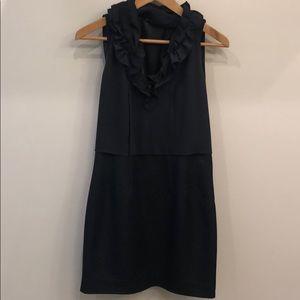 Tahari Navy Dress